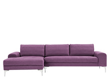 Vittorio Left Hand Facing Corner Sofa Group, Amethyst