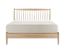 Willow Double Bed, Oak