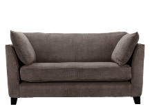 Wolseley 2 Seater Sofa, Mid Grey Corduroy