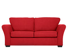 Preston Sofa Bed, Red