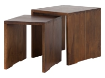 Anderson Nesting Tables, Mango Wood