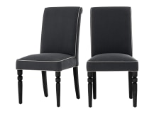 2 x Hoverton Dining Chairs, castle grey