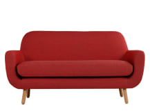 Jonah 2 Seater Sofa, Ketchup Red