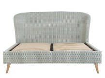 Lulu super kingsize bed, honeycomb weave