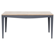 Magdalena Extending Dining Table, Oak and Grey