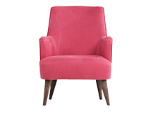 Molly Armchair, Raspberry Burst
