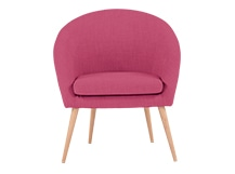 Picerno Chair, Shadow Pink