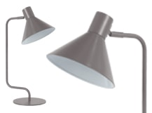 Truman Task Table Lamp, Matt Grey