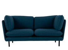 Wes 2 Seater Sofa, Petrol Teal