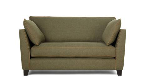 Wolseley 2 Seater Sofa, Wool Tweed