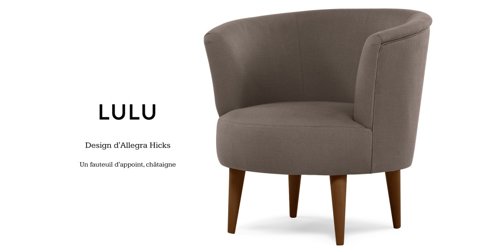 lulu design d 39 allegra hicks un fauteuil d 39 appoint ch taigne. Black Bedroom Furniture Sets. Home Design Ideas