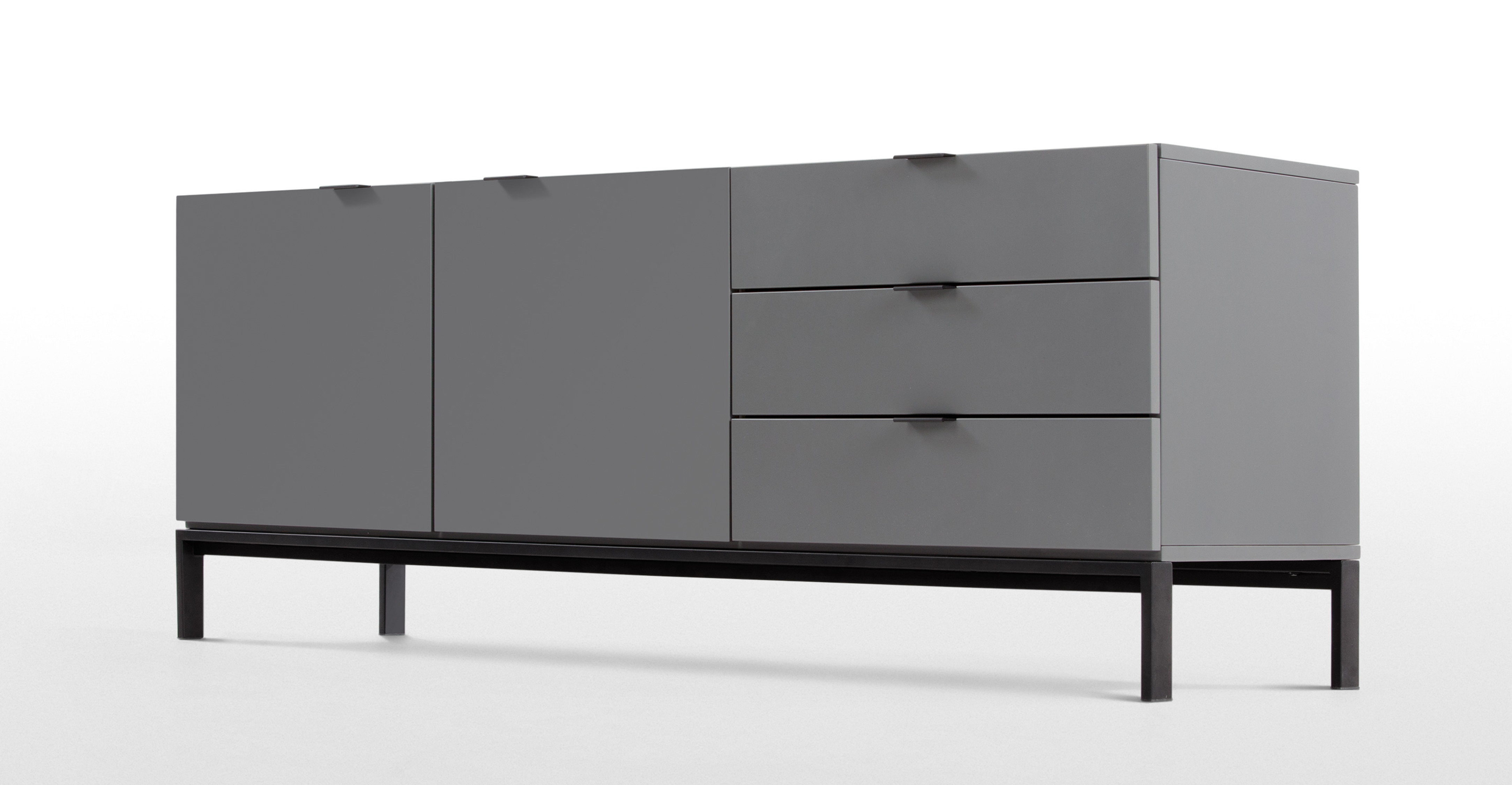 marcell sideboard grey. Black Bedroom Furniture Sets. Home Design Ideas