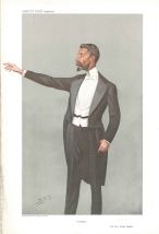 Caricature of alfred deakin