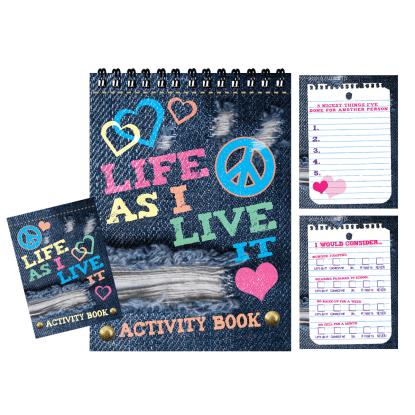 Picture of Life as I Live It Activity Book