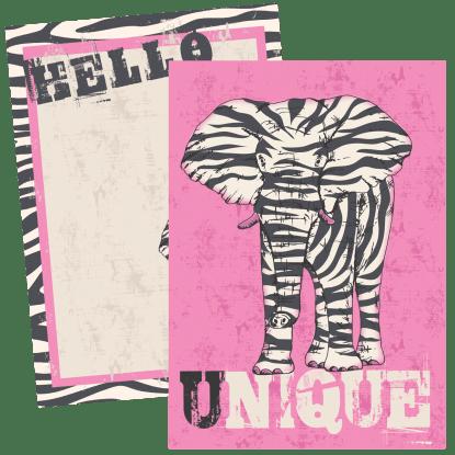 Picture of Unique Notecards