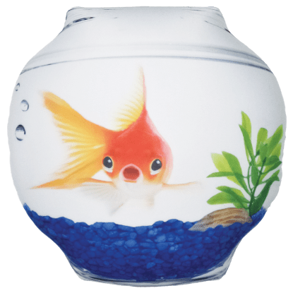 Picture of Goldfish Bowl Microbead Pillow
