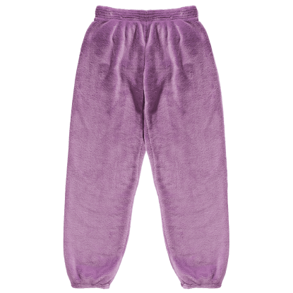 Picture of Purple Plush Sweatpants
