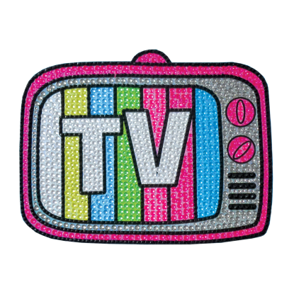 Picture of TV Rhinestone Decals