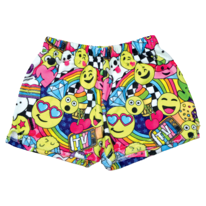 Picture of Emoji Party Plush Shorts