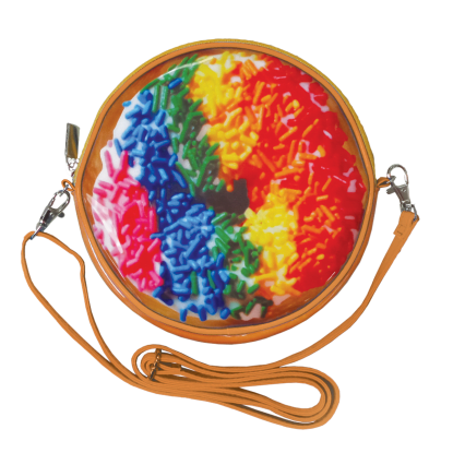 Picture of Rainbow Sprinkles Donut Purse