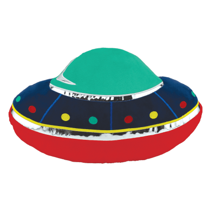Picture of UFO Scented Embroidered Pillow