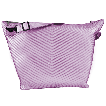 Picture of Pink Chevron Weekender Bag