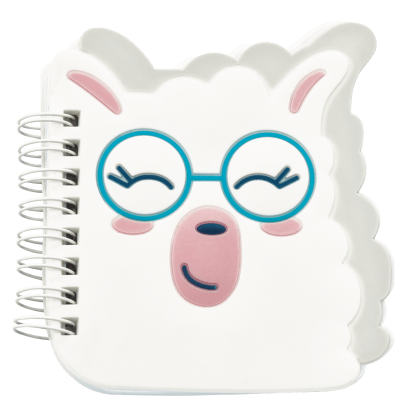Picture of Llama Mini Notebook
