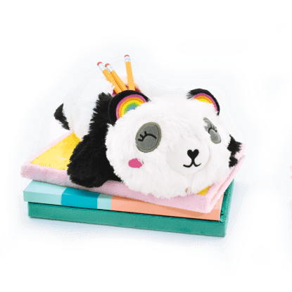 Picture of Panda Furry Pencil Case