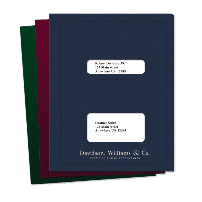 Picture of Double Windows Tax Software Folders