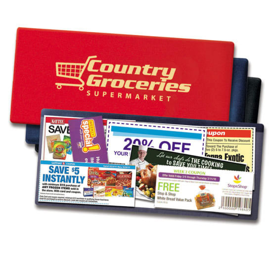 Picture of Long Size Lottery Ticket/Coupon Holder