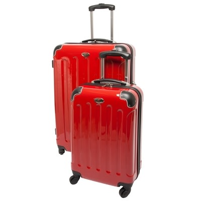 Swiss_Case_28_RED_4_wheel_2_PC_Spinner_Suitcases