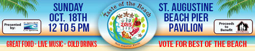 Taste of the Beach - St. Augustine Beach Pier Pavillion