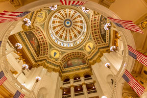 PA State Capitol Dome