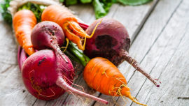 All those yummy winter root vegetables get there start this month.