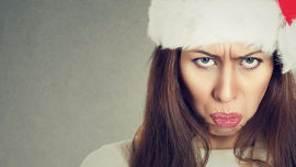 I'm a Christian and I think Christmas is bah humbug! Picture: Shutterstock.