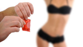 When it comes to condoms, what happened to the old adage, ''if it's not on, it's not on''?.