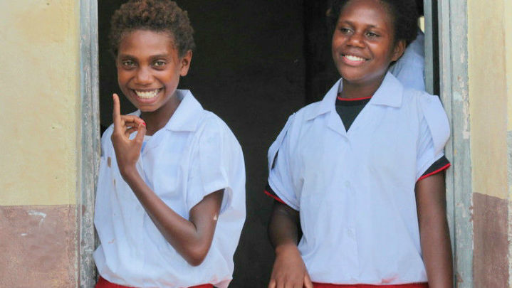 Getting girls back to school in Vanuatu.