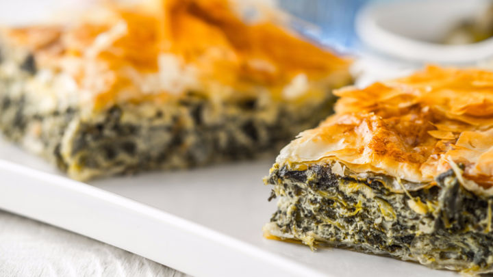 One slice of this cheese-and-spinach pie and you're hooked.