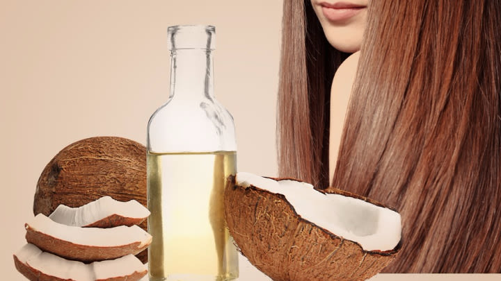 Who would have thought that coconut could help your hair? Image: Supplied.