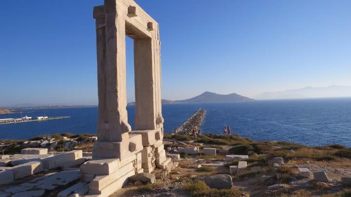 Portara, Naxos Island.