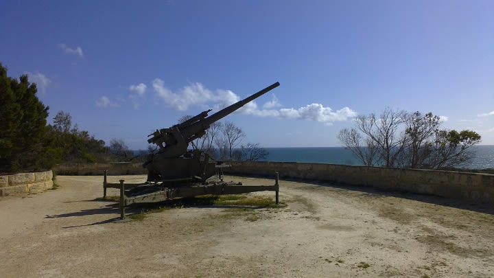 Leighton Battery at Buckland Hill.