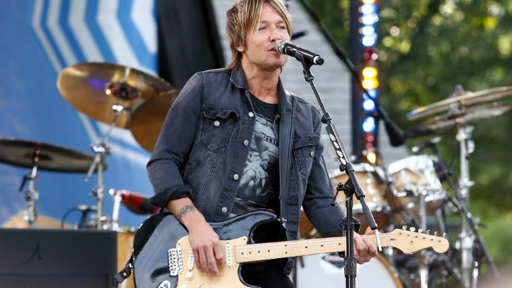 Aussie country music superstar Keith Urban.