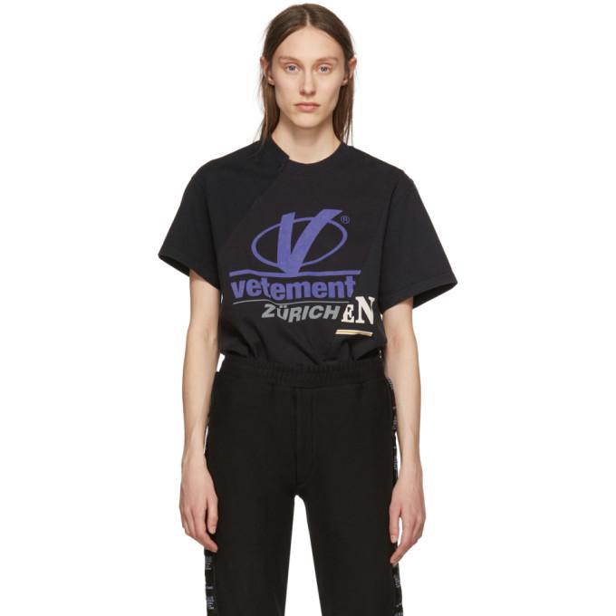卹kd9�h�i�yK^[�x�p_vetements黑色cut-upt恤