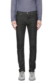 아페쎄 A.P.C. SSENSE Exclusive Black Petit New Standard Jeans