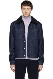 아페쎄 A.P.C. Indigo Denim Michigan Jacket