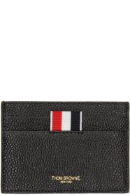 Thom Browne 톰 브라운 Black Single Card Holder