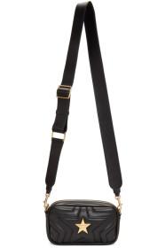 스텔라 맥카트니 Stella McCartney Black Alter-Nappa Star Bum Bag