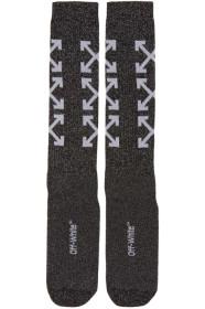 오프화이트 Off-White Black Arrows Long Socks
