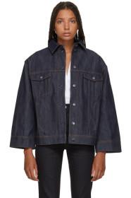 토템 청자켓 Toteme Indigo Bissau Denim Jacket