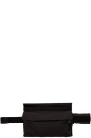 19 S/S 라프 시몬스 X 이스트팩 콜라보 여성용 포스터 벨트백 블랙앤블루 Raf Simons Black & Blue Eastpak Edition Poster Waistbag